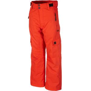 Rehall CARTER-R-JR červená 116 - Dětské lyžařské kalhoty