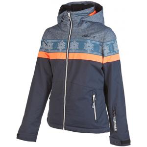Rehall ANNA-R-JR tmavě šedá 128 - Dětská lyžařská bunda
