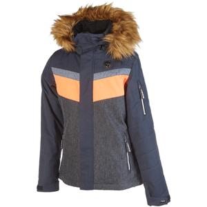 Rehall DARCY-R-JR oranžová 128 - Dětská lyžařská bunda