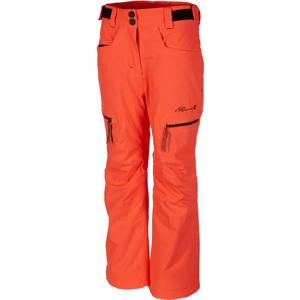 Rehall HARPER-R-JR-RED oranžová 128 - Dětské lyžařské kalhoty