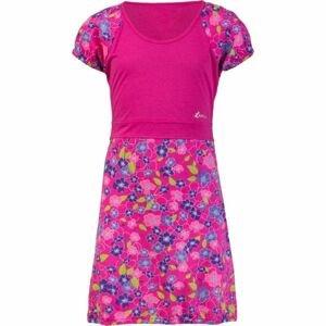Lewro ORSOLA růžová 116-122 - Dívčí šaty