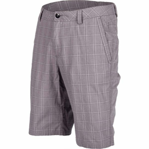 Willard ASSAN šedá XL - Pánské plátěné šortky