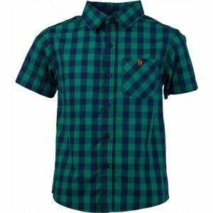Lewro OLIVER zelená 152-158 - Chlapecká košile