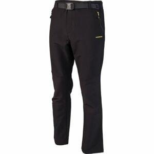 Crossroad ALBERT černá XXL - Pánské softshellové kalhoty