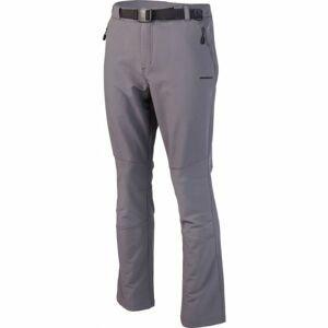 Crossroad ALBERT šedá XXL - Pánské softshellové kalhoty