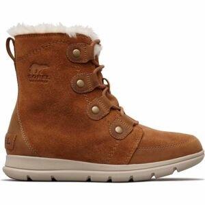 Sorel EXPLORER JOAN hnědá 6 - Dámská zimní obuv