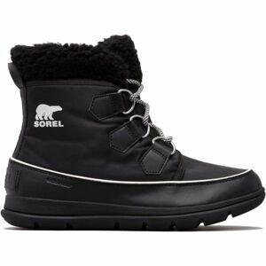 Sorel EXPLORER CARNIVAL černá 7 - Dámská zimní obuv