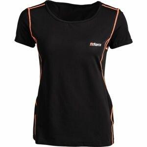 Fitforce CARMEN růžová S - Dámské fitness triko