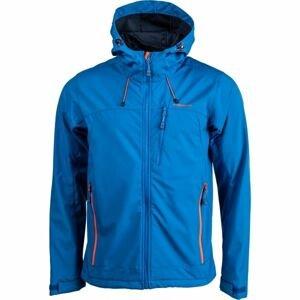Crossroad OLIN modrá L - Pánská softshellová bunda