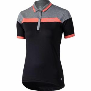 Klimatex LUA černá L - Dámská cyklistická polokošile