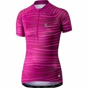 Klimatex SAFA růžová XL - Dámský cyklistický dres