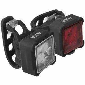 AXA NITELINE 44  NS - Set předního a zadního světla na kolo