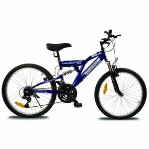 Olpran MAGIC 24 modrá NS - Dětské celoodpružené kolo