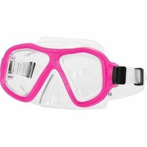 Miton MIAMI růžová NS - Potápěčská maska