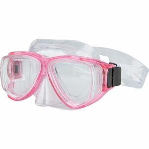 Miton TOBAGO JR růžová NS - Juniorská potápěčská maska