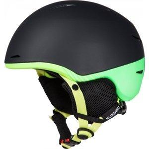 Blizzard SPEED JR černá (48 - 51) - Juniorská lyžařská helma