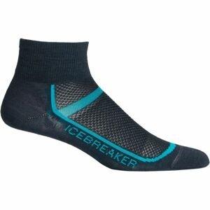 Icebreaker MULTISPORT ULTRA LIGHT MINI WMNS černá M - Dámské sportovní ponožky