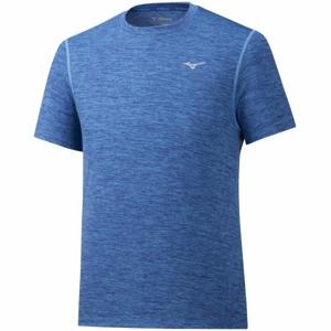 Mizuno IMPULSE CORE TEE modrá M - Pánské běžecké triko