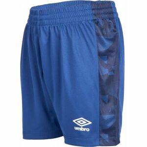 Umbro FRAGMENT SHORT JNR modrá S - Chlapecké fotbalové kraťasy