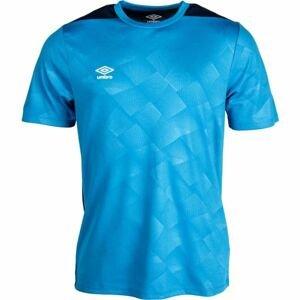 Umbro EMBOSSED TRAINING JERSEY modrá L - Pánské sportovní triko