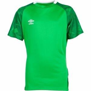 Umbro FRAGMENT JERSEY SS JNR zelená M - Dětské sportovní triko