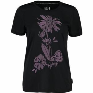 Maloja VULPERAM. MULTI 1/2 černá XL - Sportovní triko