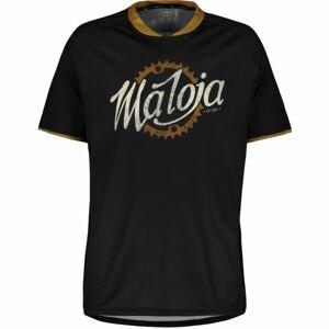 Maloja SCHLEINSM. MULTI 1/2 černá M - Sportovní dres