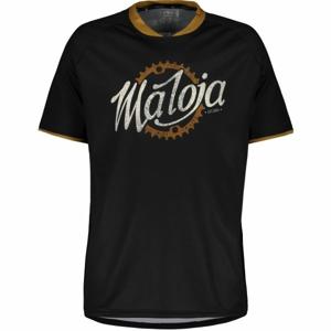 Maloja SCHLEINSM. MULTI 1/2 černá XL - Sportovní dres