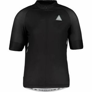 Maloja PLANSM. 1/2 černá XL - Dres s krátkým rukávem