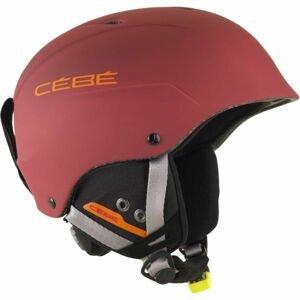 Cebe CONTEST hnědá (53 - 57) - Juniorská sjezdová helma