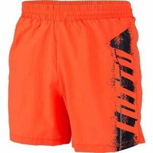 Lotto LOGO SHORT BEACH NY oranžová XXL - Pánské šortky