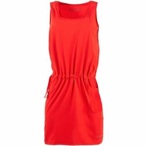 ALPINE PRO PHILA 2 červená M - Dámské šaty