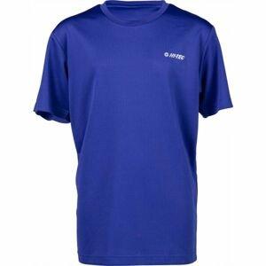 Hi-Tec SELINO JR modrá 140 - Dětské triko