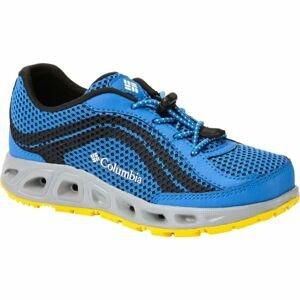Columbia YOUTH DRAINMAKER IV modrá 1 - Dětské outdoorové boty