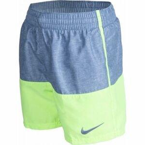 Nike LINEN SPLIT BOYS šedá L - Chlapecké kraťasy do vody