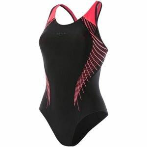 Speedo FIT LANEBACK černá 36 - Dámské plavky