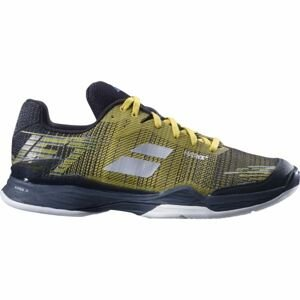 Babolat JET MACH II M CLAY žlutá 10.5 - Pánská tenisová obuv