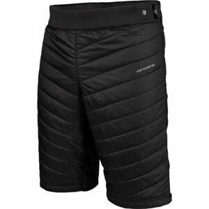 Arcore ALBAN černá M - Pánské zateplené šortky