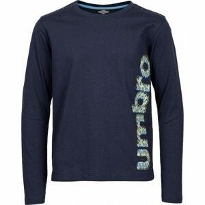 Umbro HARRY tmavě modrá 140-146 - Chlapecké triko