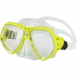 Finnsub CLIFF MASK žlutá NS - Potápěčská maska