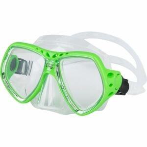 Finnsub CLIFF MASK zelená NS - Potápěčská maska