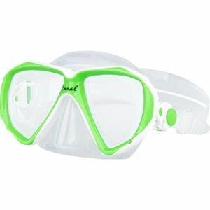 Finnsub CORAL JR MASK zelená NS - Juniorská potápěčská maska