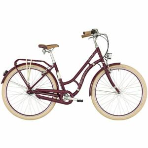Bergamont SUMMERVILLE N7 FH W fialová 48 - Dámské městské retro kolo