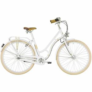 Bergamont SUMMERVILLE N7 FH W bílá 52 - Dámské městské retro kolo