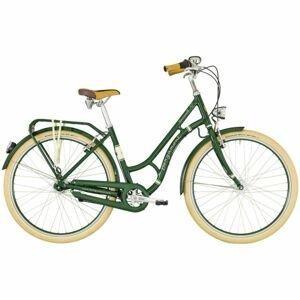 Bergamont SUMMERVILLE N7 FH W zelená 52 - Dámské městské retro kolo