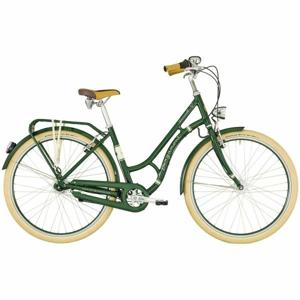 Bergamont SUMMERVILLE N7 FH W zelená 48 - Dámské městské retro kolo