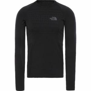 The North Face SPORT L/S CR N M černá L/XL - Pánské tričko