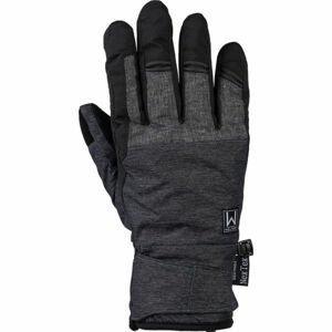 Willard HOLYN tmavě šedá L - Pánské lyžařské rukavice