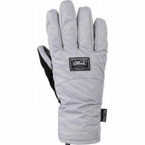 Willard CAPRICE šedá S - Dámské lyžařské rukavice