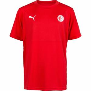 Puma LIGA TRAINING JERSEY JR červená 140 - Dětské tričko